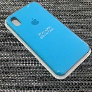 NEW iPhone Silicone Case for XR Sky Blue